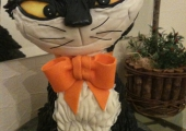 Gâteau Sculpté Le Chat Noir - 25 parts 250 euros