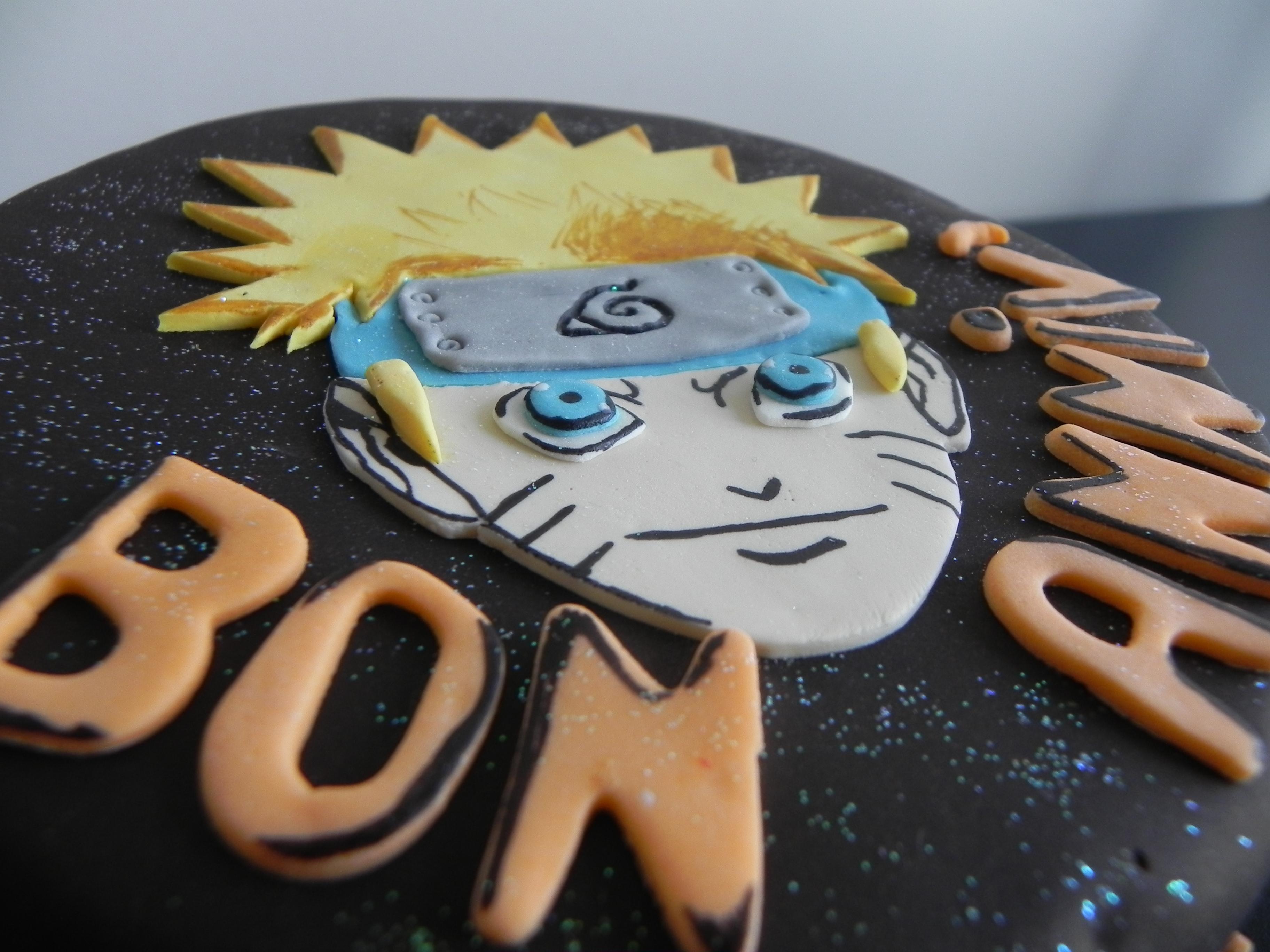 Naruto Cake Latelier Des Sucreries