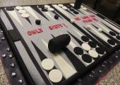 Gâteau Backgammon