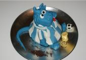 Dragon Sculpté à l'éphigie du dragon de Porto -