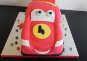 Gâteau Cars Flash McQueen