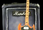Gâteau Ampli & Guitare