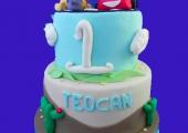 Gâteau Winnie, Tigrou et Cars