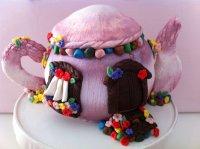 Gâteau sculpté Théière - 15 parts 150€
