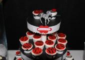 Cupcakes Zèbre