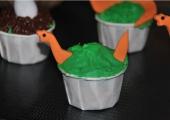 Cupcake personnalisée Dinosaurs