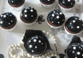 Cupcakes Noir et Blanc version Chanel