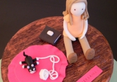 La fille et le petit chat - 25 parts, 7€ la part