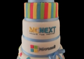 Gâteau Anniversaire d'Entreprise : MCNext