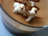 Verrine crème caramel au popcorn