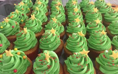 Cupcakes corporate de Noël pour Nexity