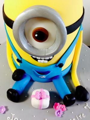 Gâteau Minnion