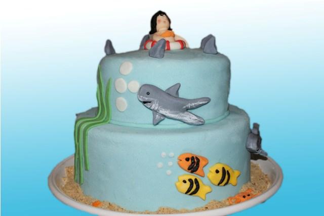Le requin et la fille rêveuse