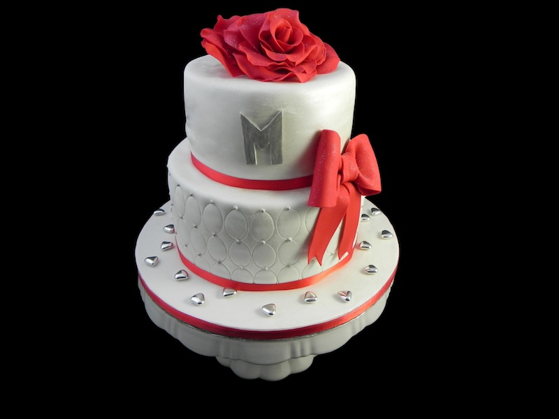 Gâteau Blanc Rouge