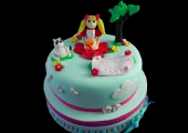 Gâteau Candy Dessin animé