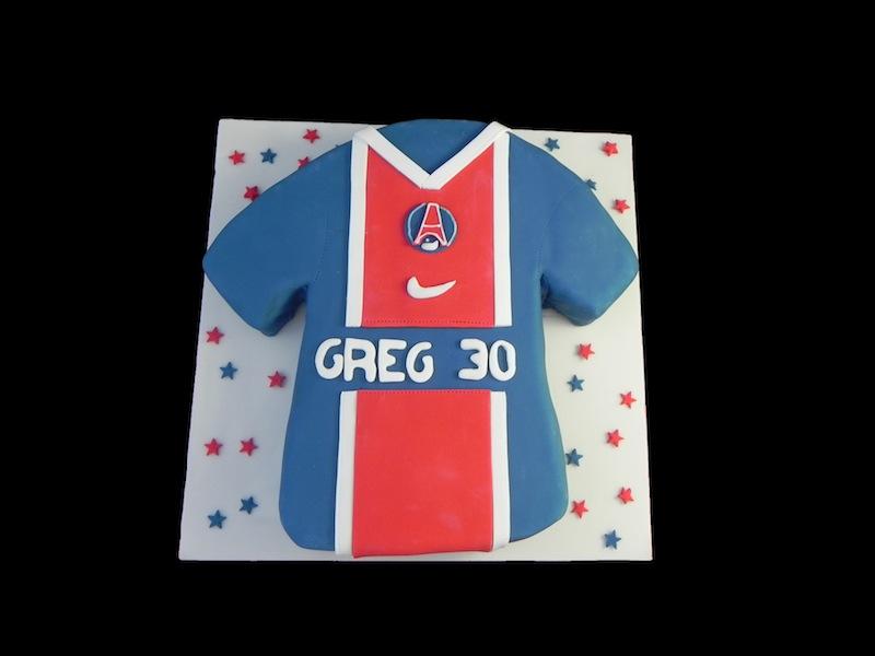 Gâteau Maillot PSG