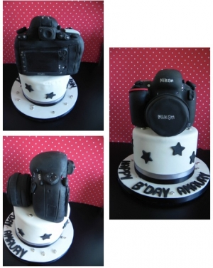 Appareil Photo Cake