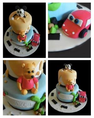 Gâteau Personnages Disney