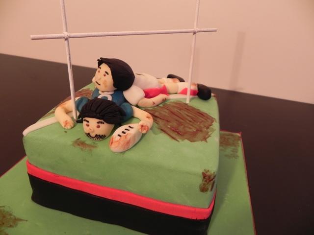 Gâteau Rugby