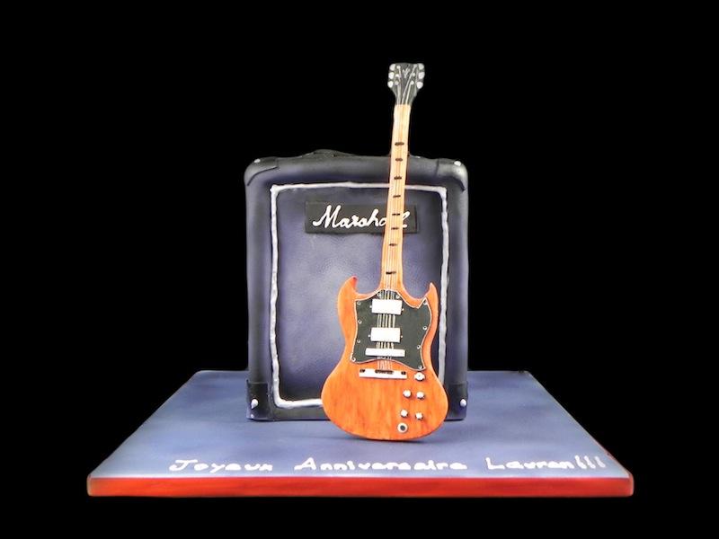 Gâteau Rock'n Roll