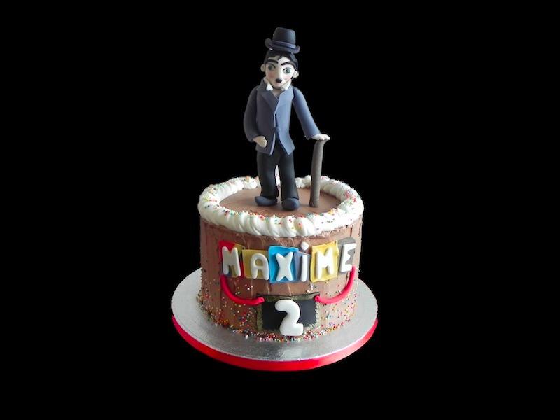 Chaplin and Co Cake
