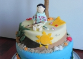 Caraïbes Cake 40 parts, 7€ la part
