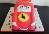 Gâteau Cars Flash McQueen