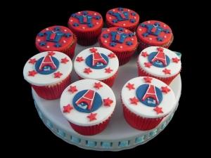 Cupcakes PSG