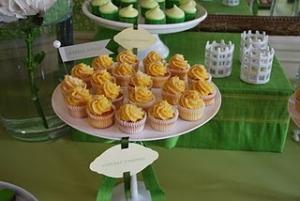 Cupcakes au Mais et Noix de coco