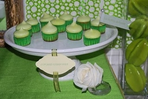 Cupcakes Citron Verts