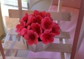 Cupcake personnalisée en fleurs