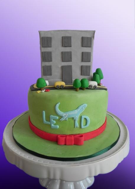 Gâteau Immeuble