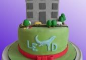 Gâteau-immeuble - 40 parts, 6€ la part