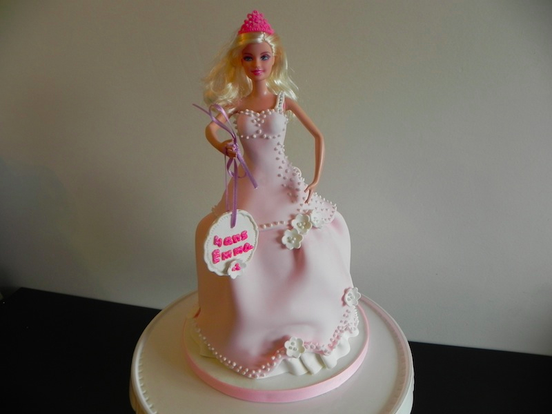 Gâteau Barbie Princesse