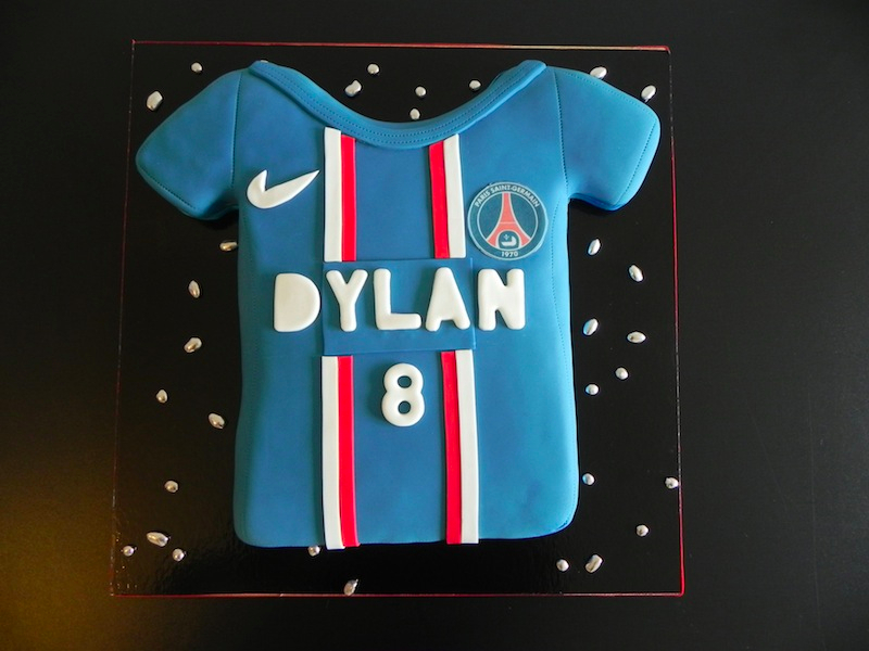 Gâteau Nouveau Maillot PSG
