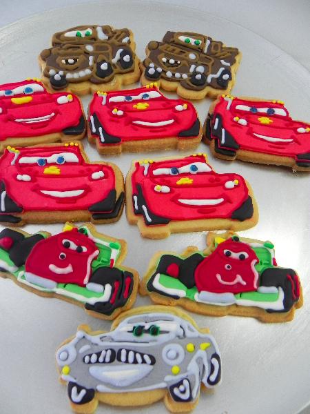 Sablés Cars – Flash McQueen et ses amis