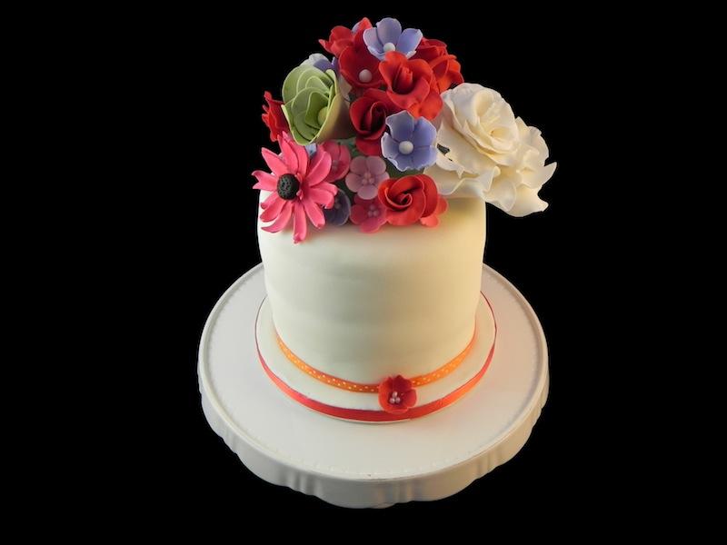Gâteau Bouquet de Fleurs