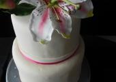 Wedding Cake Fleur de Lys