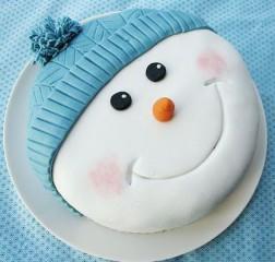 Décoration de Gâteau en Pâte à Sucre – Thème Noël