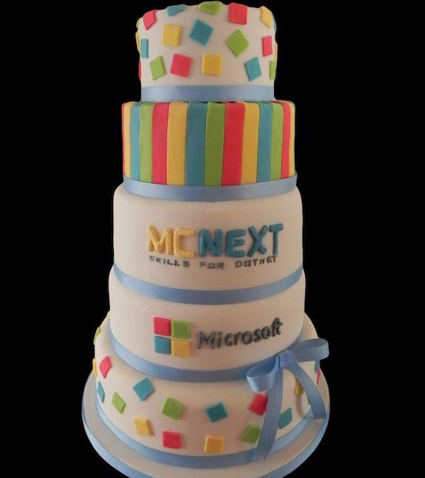 Gâteau Anniversaire d'Entreprise : MC Next