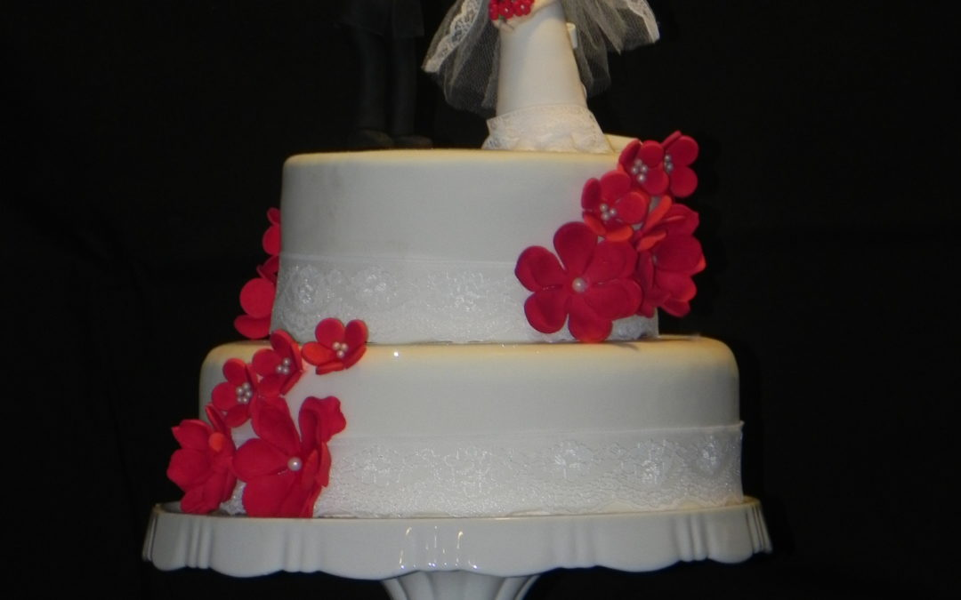 Wedding Cake Romantique !